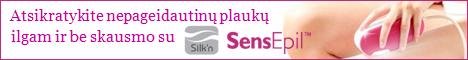 Silk'n SensEpil - geriausias metu fotoepiliatorius