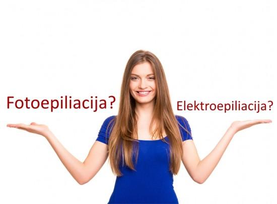 elektroepiliacija privalumai trukumai