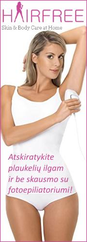 Ilgalaikio plaukų šalinimo ir odos priežiūros aparatai